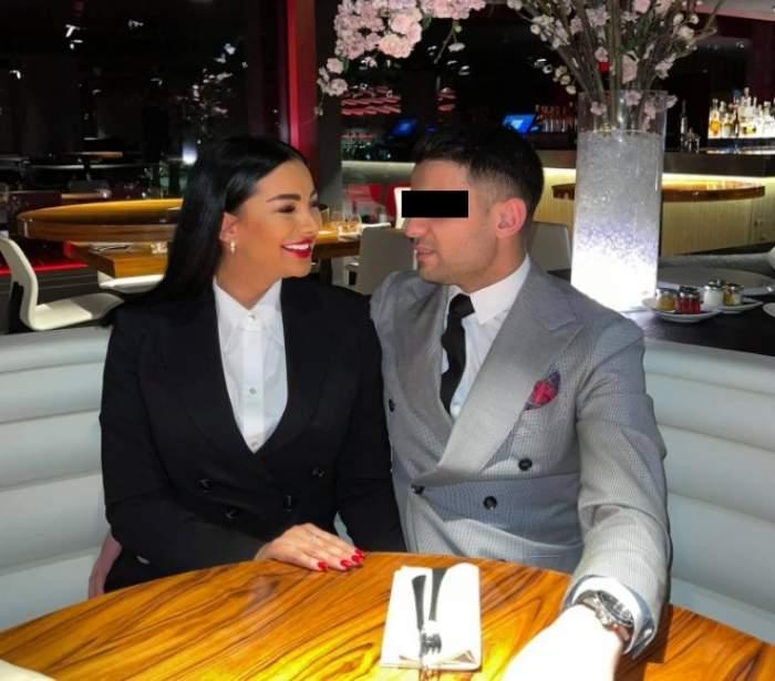 Larisa Munteanu, la masă cu iubitul