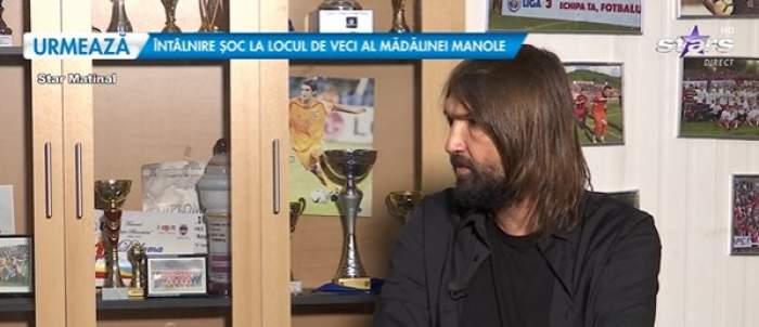 Dan Alexa, în timpul interviului la Antena Stars