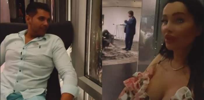 Brigitte și Florin Pastramă în Burj Khalifa