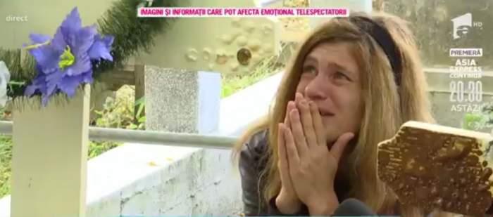 """Acces Direct. Parastas de șase săptămâni la mormântul gemenilor din Ploiești. Andreea, distrusă de durere: """"Mami, iertați-mă"""" / VIDEO"""