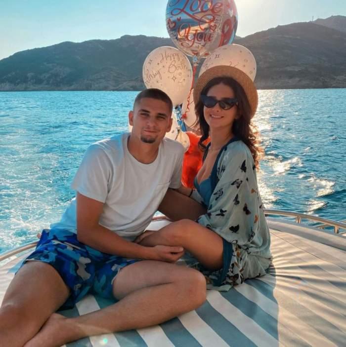 Răzvan Marin va deveni tătic de fată! Crina, iubita fotbalistului, este însărcinată / VIDEO