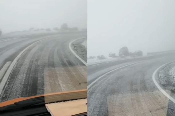 ninge pe transfagarasan