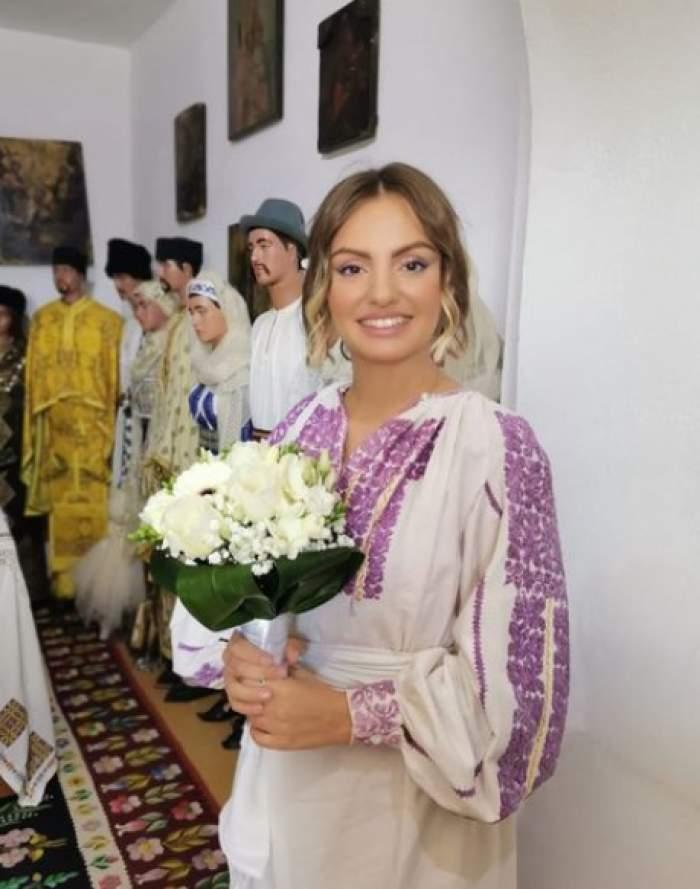 alexandra stan in costum popular
