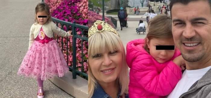 Elena Udrea cu fiica și soțul în vacanță