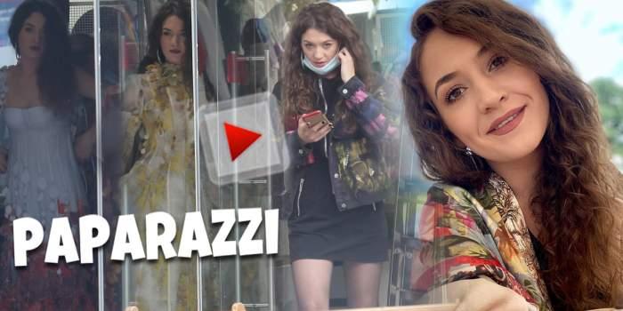 Imagini rare cu Carmen Chindriș la cumpărături. Cântăreața momentului are mare grijă la alegerea ținutelor de scenă / PAPARAZZI