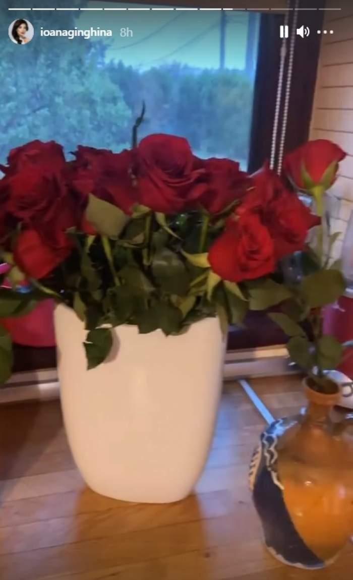 Motivul pentru care Ioana Ginghină a primit 45 de trandafiri cu toate că a împlinit 44 de ani. Cum petrece sărbătorita / FOTO
