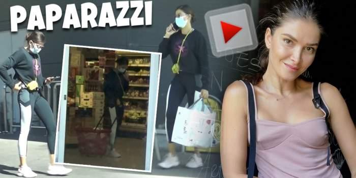 Alina Pușcaș nu merge la cumpărături fără a fi acompaniată. Prezentatoarea de la Te cunosc de undeva, tot timpul cu telefonul la ureche / PAPARAZZI