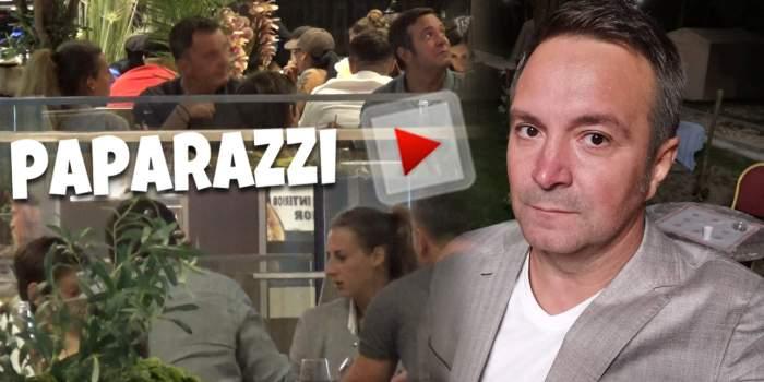 Daniel Buzdugan, apariție unică la un restaurant cu soția și fiul lui. Cum au fost surprinși cei trei la mall alături de un prieten / PAPARAZZI