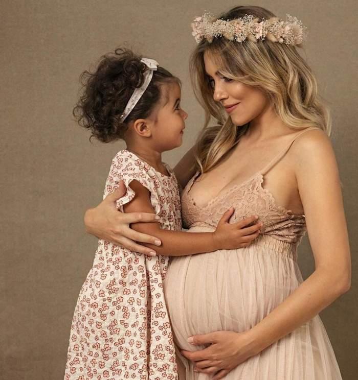 """Andreea Ibacka, mărturisiri despre viata de graviduță cu doar câteva zile înainte să nască: """"Destule nopți în care respir greu cu așa burtică"""""""