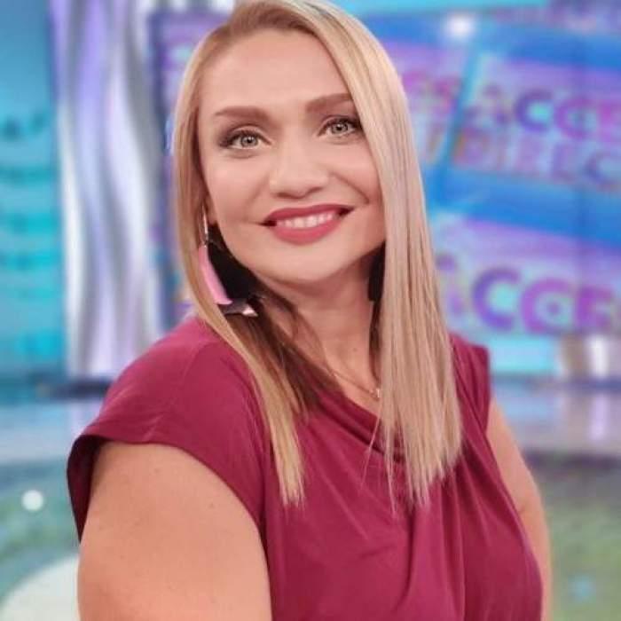 Cristina Cioran în platoul Acces Direct