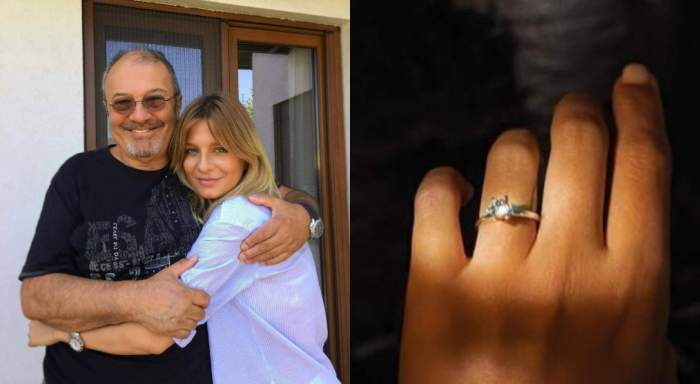 Colaj Mircea și Ana Baniciu, inel de logodnă