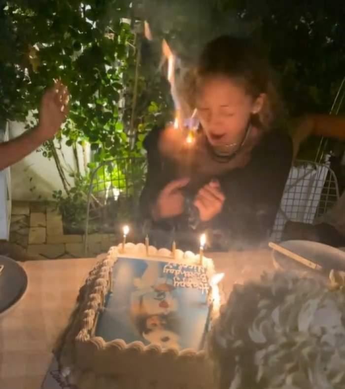 Nicole Richie, cu părul în flăcări la ziua ei de naștere. Vedeta a publicat momentul înfricoșător în care a luat foc / VIDEO