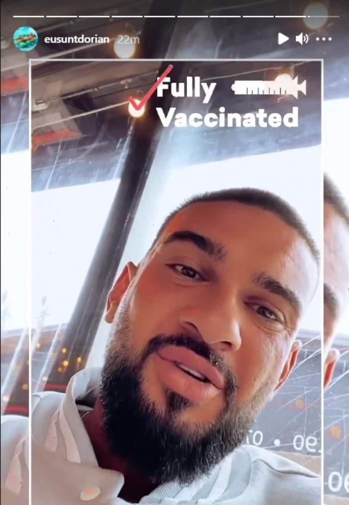 """Reacția lui Dorian Popa după ce i s-a cerut certifcatul verde la restaurant. Capitala a intrat în scenariul roșu, azi: """"De ce să ne fie rușine?!"""" / VIDEO"""