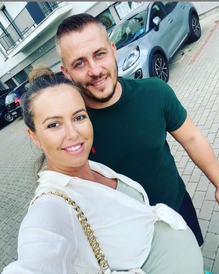 nicoleta molnar selfie cu sotul