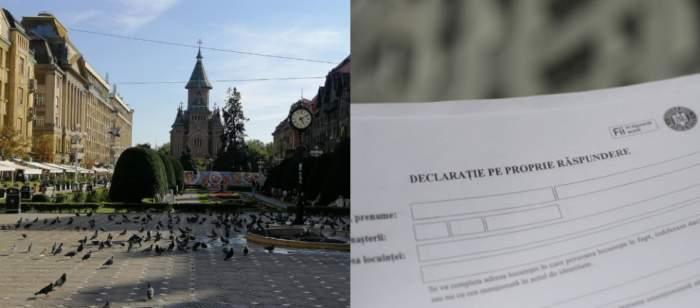 Timișoara este primul oraș care va intra în carantină de weekend! Declarația pe propria răspundere va deveni obligatorie