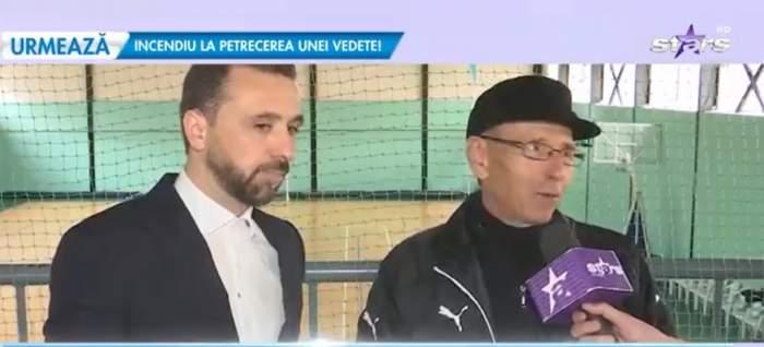 Lucian Sănmărtean, alături de tatăl său, în cadrul ultimului interviu cu acesta