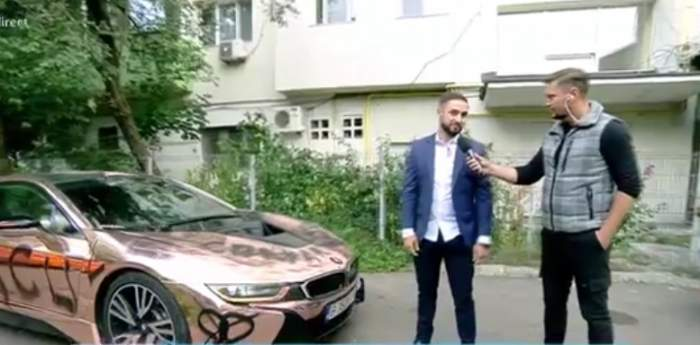 """Acces Direct. Cum a reacționat milionarul John Albert când și-a găsit bolidul de 200.000 euro vandalizat: """"Nu ar fi prima femeie care reacționează așa"""" / VIDEO"""