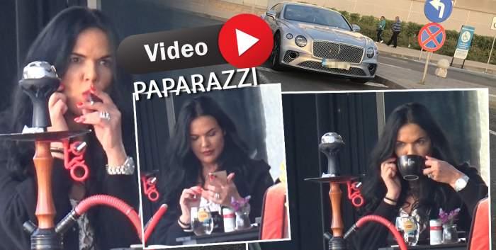 Ioana Simion și-a lăsat mașina la întâmplare, pentru o cafea bună la terasă. Cum a fost surprinsă soția lui Ilie Năstase / PAPARAZZI