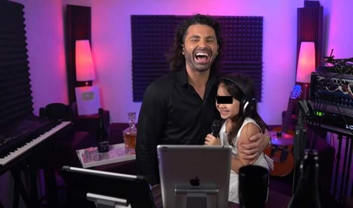 """Pepe, despre colaborarea muzicală cu fiica sa cea mică, Rosa. """"Tot ce vedeți este real, nimic regizat"""" / VIDEO"""