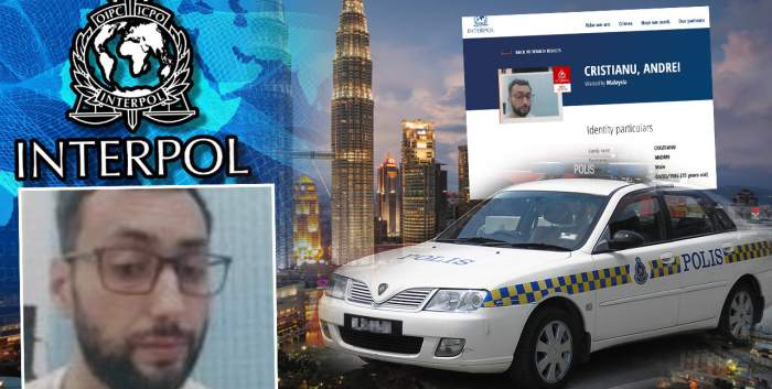 El este criminalul român care a îngrozit Malaezia! / Poliția Română nici n-a auzit de urmăritul internațional