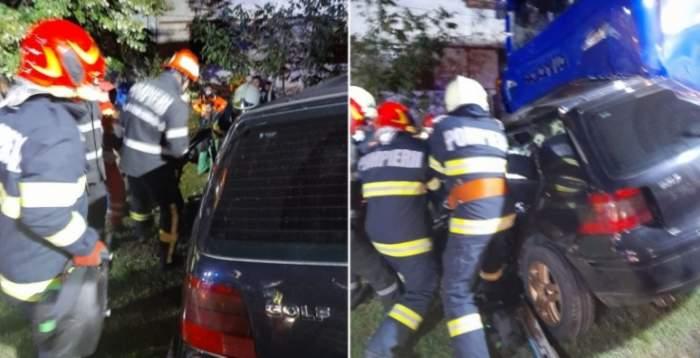 Accident de proporții în Caraș-Severin. Patru persoane au decedat pe loc / FOTO
