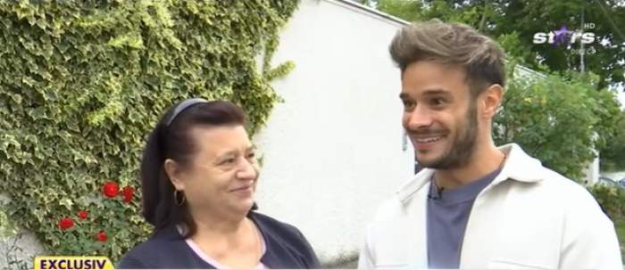 Dima Trofim, la primul interviu alături de mama lui