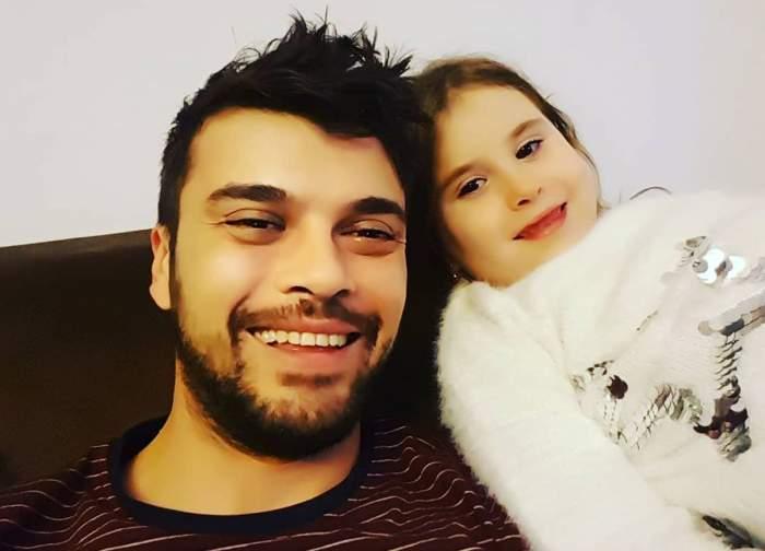 marius elisei si fiica lui selfie