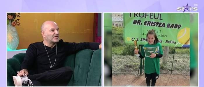 Dan Capatos, în timpul interviului la Antena Stars