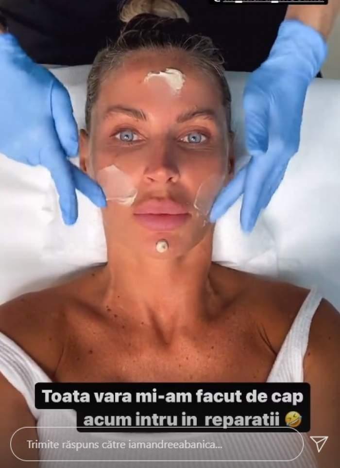 """Ce tratamente face Andreea Bănică pentru cearcăne. Nopțile pierdute și-au pus amprenta asupra vedetei: """"Intru în reparații"""""""