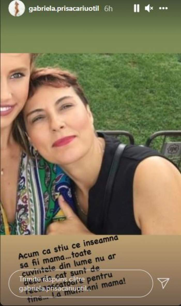 """Cum arată soacra lui Dani Oțil. Gabriela Prisăcariu, mesaj de suflet pentru mama sa: """"Sunt recunoscătoare"""" / FOTO"""