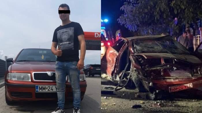Accident grav în Maramureș! Un tânăr a murit și alți doi au fost răniți după o urmărire ca-n filme din cauza geloziei / FOTO
