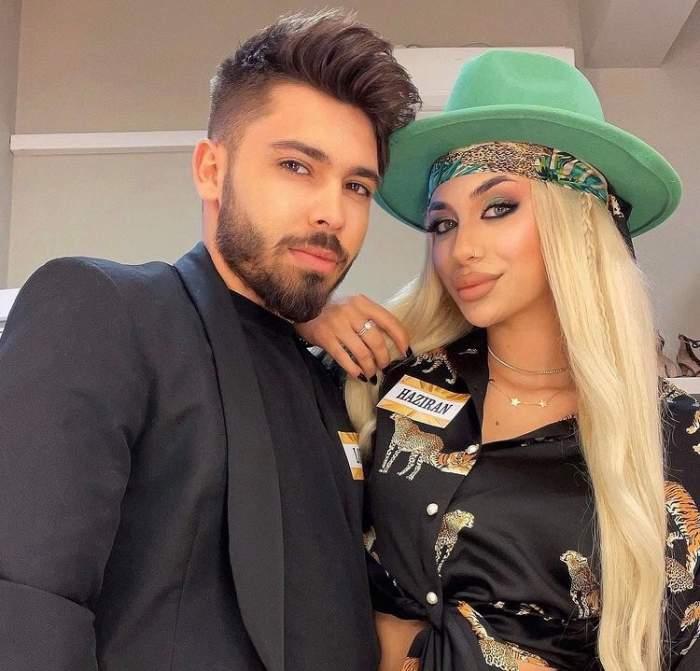 """Luis Gabriel i-a interzis logodnicei sale să mai meargă să cânte la evenimente. Haziran a răbufnit în mediul online: """"Ați început să faceți o dramă din orice"""""""