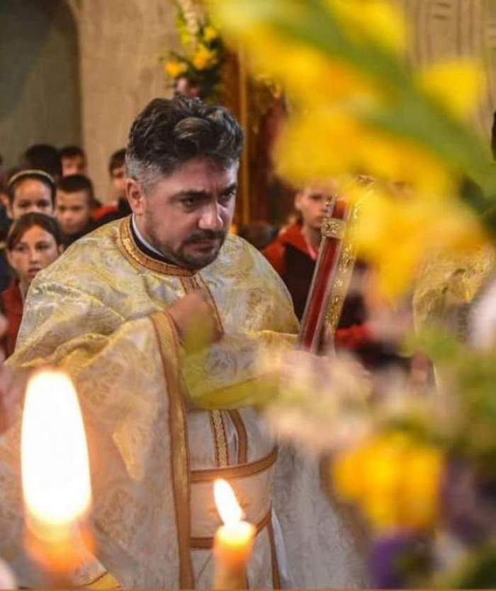 """Durere de nedescris într-o comună din Botoşani, după ce preotul de doar 39 de ani a murit într-un accident teribil. """"Mă naște viața, mă-nghite cerul"""""""