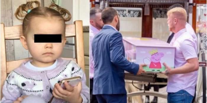 O mamă și-a înmormântat fetița de 2 ani după ce a fost ucisă într-un incendiu. Momente tragice în Anglia / FOTO
