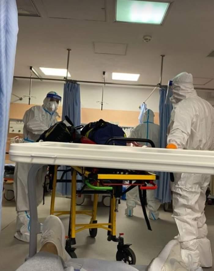 Alina Pușcău a fost transferată de urgență la Terapie Intensivă. Modelul a fost diagnosticat ieri cu tulpina Delta / FOTO