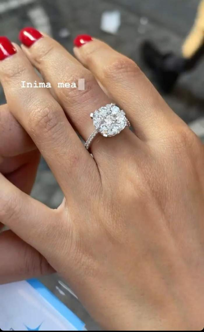 Raluca Pascu s-a logodit? Fosta soție a lui Pepe a primit un inel cu diamant de la actualul ei partener de viață