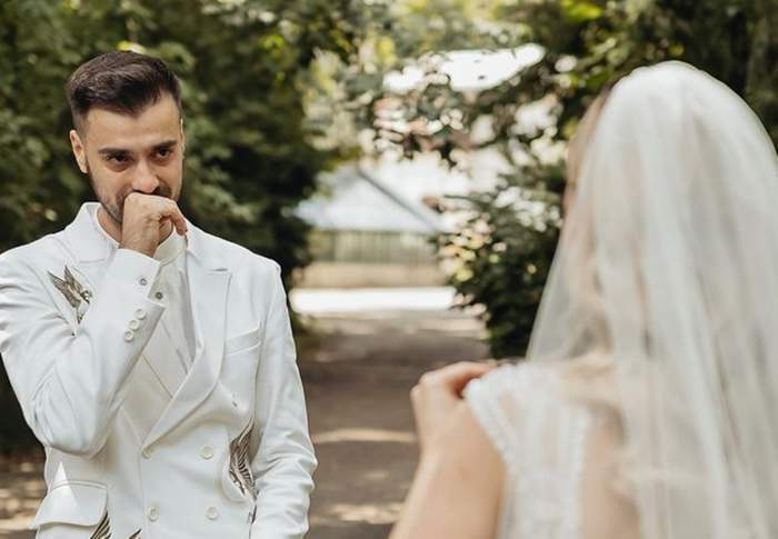 liviu teodorescu si iulia la nunta