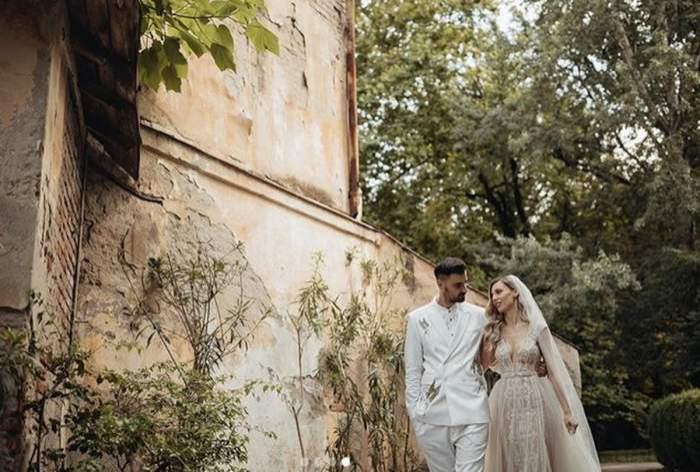 liviu teodorescu si sotia sa la nunta