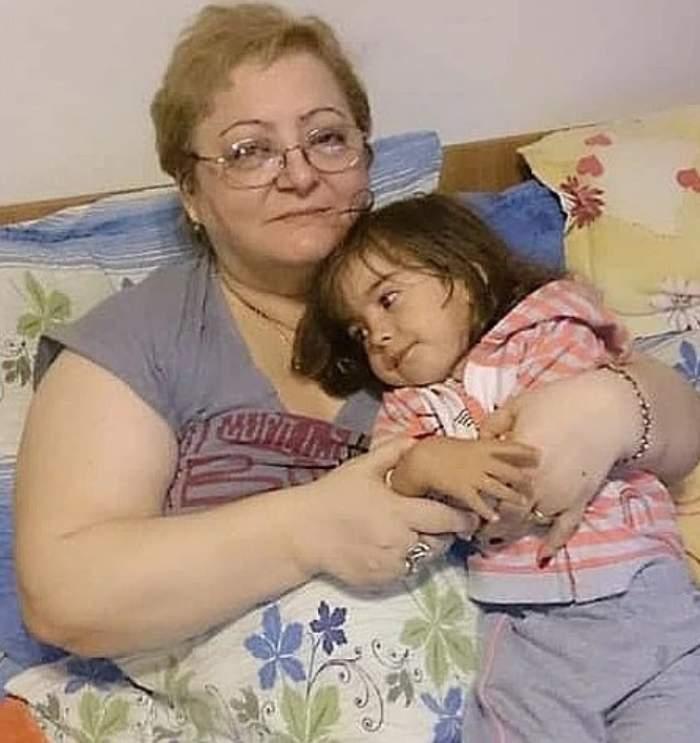 mama danielei gyorfi cu fiica ei