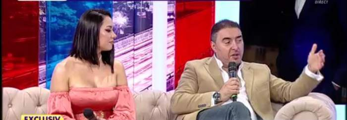 Ana Maria și Marian Mexicanu la o emisiune TV