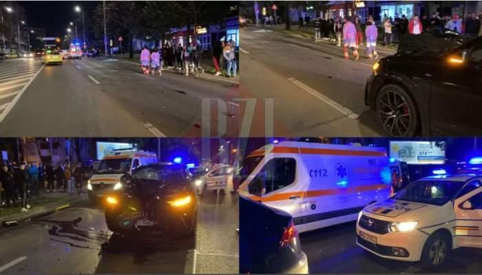 Locul accidentului din Iași
