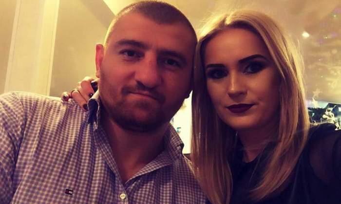 Cătălin Moroșanu și soția, zâmbitori