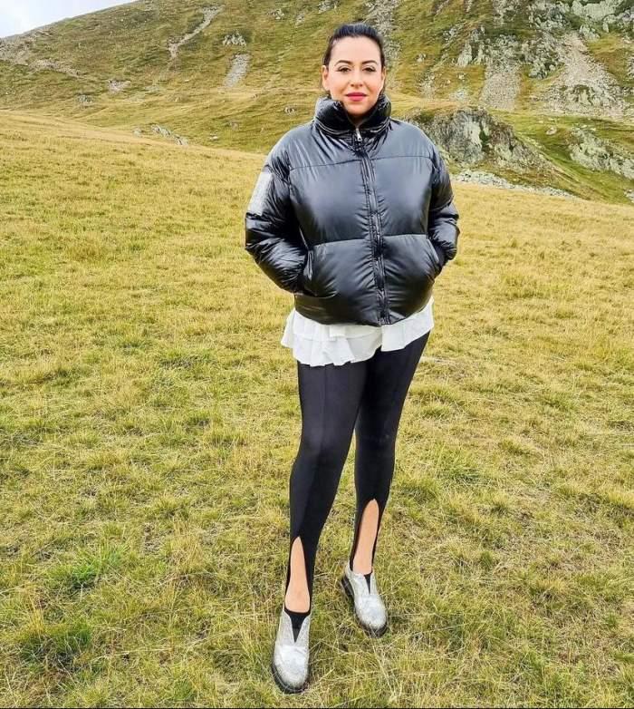 Cum arată Oana Roman în colanți mulați, după ce a slăbit 20 de kilograme: ''Nu ne uităm în jos, doar înainte'' / FOTO