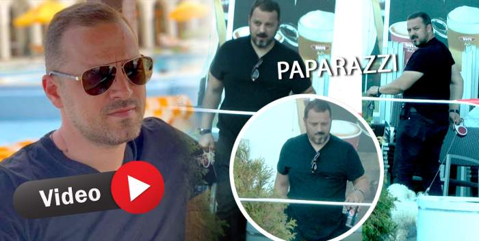 Nepotul preferat al lui Gigi Becali nu ține cont de restricții în timp de pandemie. Vasile Geambazi, prins în fapt de paparazzii Spynews / PAPARAZZI