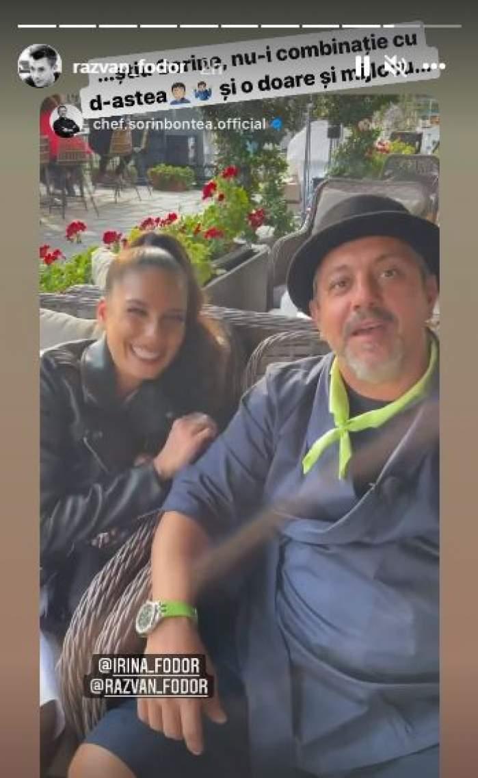 "Sorin Bontea, mesaj pentru Răzvan Fodor despre soția lui, Irina: ""Mănâncă mult, bea mult, cheltuie banii..."" / FOTO"