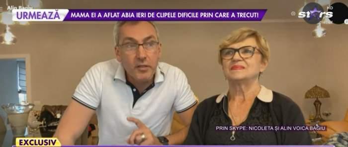 Nicoleta Voica și soțul, prin Skype la Antena stars