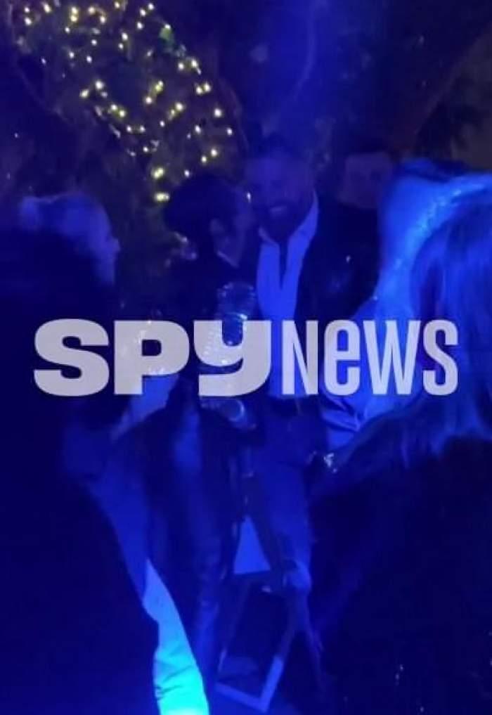 Imagini exclusive cu Oana Marica și Alex Bodi. Celebrul afacerist și Bunesa, gesturi tandre în văzul lumii / VIDEO