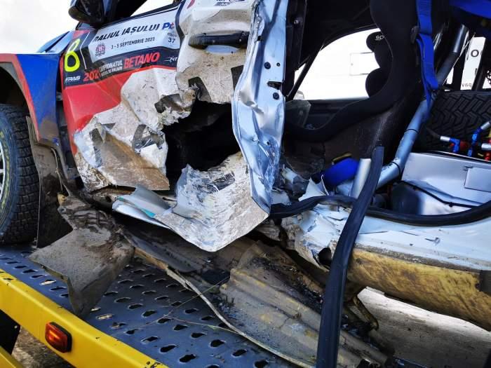 Cunoscutul pilot Adrian Răspopa este în comă. Bărbatul a suferit un grav accident la Raliul Iașului / FOTO