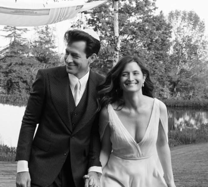 Mark Ronson și Grace Gummer în ziua nunții