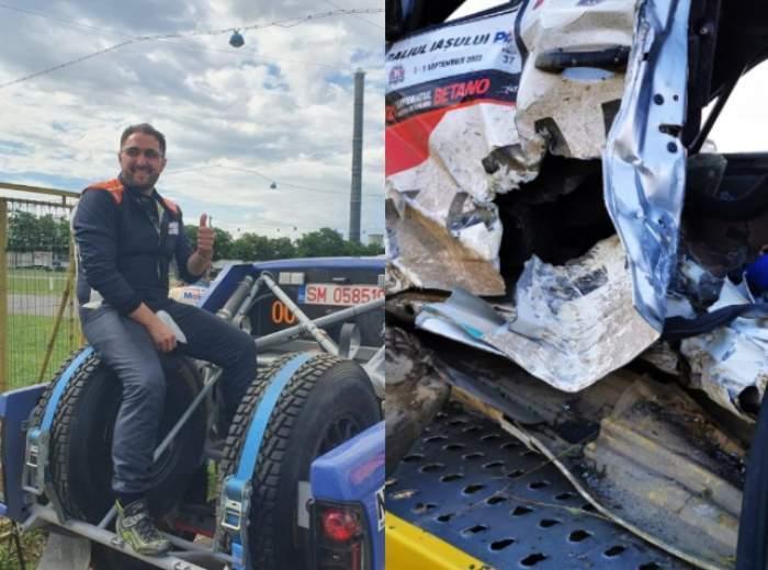 """Ultimele declarații ale pilotului Adrian Răspopa, înainte să pornească în cursa mortală de la Raliul Iașului : """"Ne plac suprafețele alunecoase"""""""